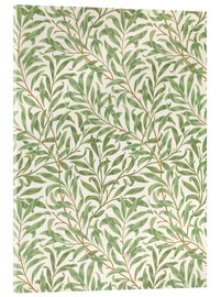 Tableau en verre acrylique  Saule - William Morris