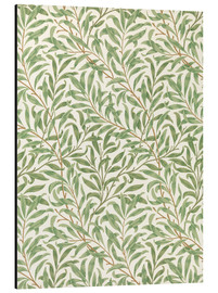 Tableau en aluminium  Saule - William Morris