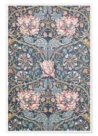 Poster  Chèvrefeuille - William Morris