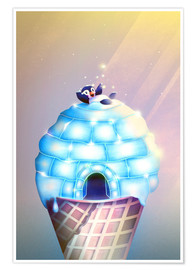 Poster Igloo Flavour