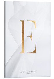 Tableau sur toile  GOLD LETTER COLLECTION E - Stephanie Wünsche