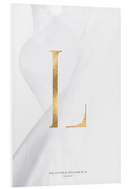 Tableau en PVC  GOLD LETTER COLLECTION L - Stephanie Wünsche