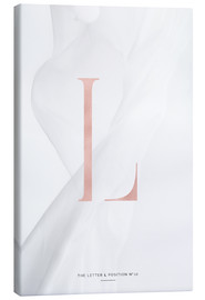 Toile  ROSEGOLD LETTER COLLECTION L - Stephanie Wünsche