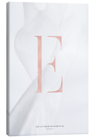 Toile  ROSEGOLD LETTER COLLECTION E - Stephanie Wünsche