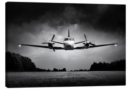 Toile  Small airplane low flyby - Johan Swanepoel