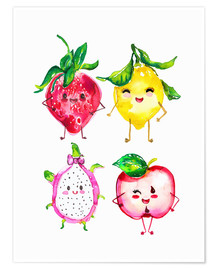 Poster  Fruits coquins - Ikon Images