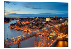 Tableau en aluminium  Porto, Portugal - FineArt Panorama