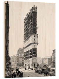 Bois  Times Building under Construction, 42nd Street, New York City, USA, circa 1904 - Glasshouse