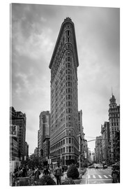 Tableau en verre acrylique  Flatiron building à New York - Axiom RF