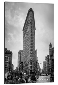 Tableau en aluminium  Flatiron building à New York - Axiom RF