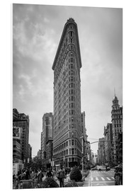 Tableau en PVC  Flatiron building à New York - Axiom RF