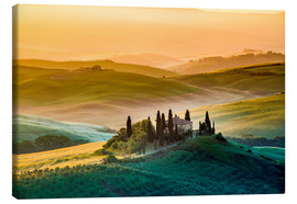 Toile  Val d´Orcia, Tuscany, Italy - age fotostock