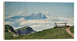 Bois  Rigi Descent - The sky so close - Daniel Heine