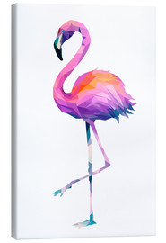 Tableau sur toile  Flamingo 2 - Miss Coopers Lounge