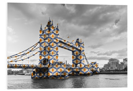 Forex  Tower Bridge Couleur Pop
