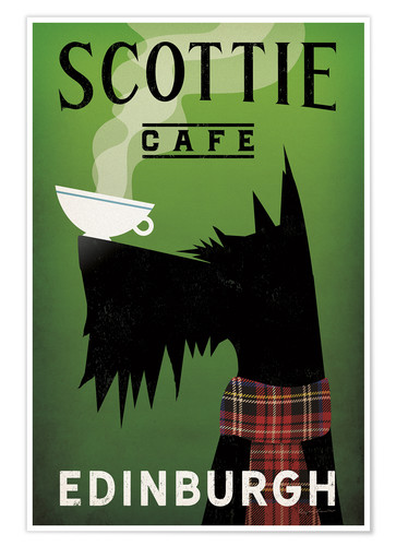 Poster Scottie Cafe