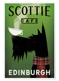 Poster  Scottie Cafe - Ryan Fowler