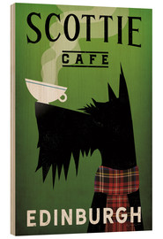 Tableau en bois  Scottie Cafe - Ryan Fowler