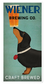 Poster  Wiener Brewing Co - Ryan Fowler