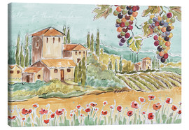 Toile  Tuscan Breeze I - Daphne Brissonnet