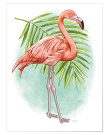 Poster  Tropical Flair II - Mary Urban