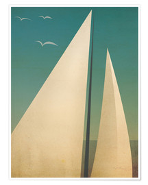 Poster  Voile I - Ryan Fowler