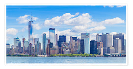 Poster Skyline de Manhattan, New York