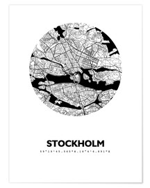 44spaces - Plan de la ville de Stockholm