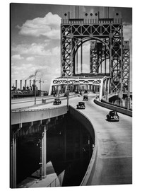 Tableau en aluminium  Triborough Bridge, New York - Christian Müringer