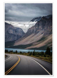 Poster Icefields Parkway, Canada