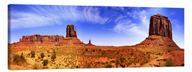 Tableau sur toile  Monument Valley, panorama - fotoping