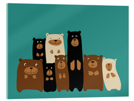 Kidz Collection - Bear friends turquoise