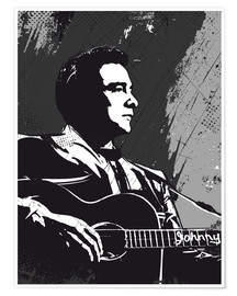Poster  Johnny Cash - 2ToastDesign