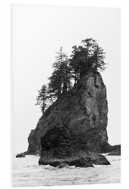 Peter Wey - Rocks at Second Beach in Olympic National Park, USA