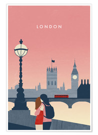 Poster  Illustration London - Katinka Reinke