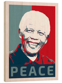 Bois  Nelson Mandela Peace and Hope - Alex Saberi