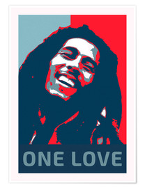 Poster  Bob Marley One Love - Alex Saberi