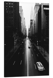 Alu-Dibond  Streets of New York (42nd street - Tudor City) - Sascha Kilmer