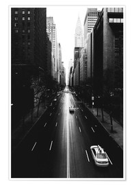 Poster Rues de New York, 42nd Street