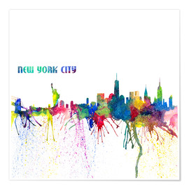 Poster Skyline de New York City