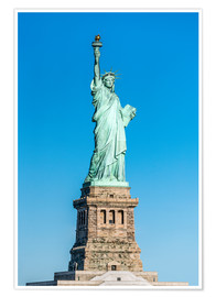 Poster  Statue of Liberty on Liberty Island, New York City, USA - Jan Christopher Becke