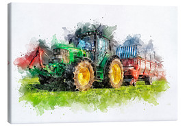 Toile  tractor - Peter Roder