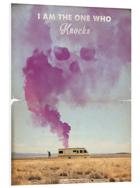 Tableau en PVC  Breaking bad, affiche rétro (anglais) - 2ToastDesign