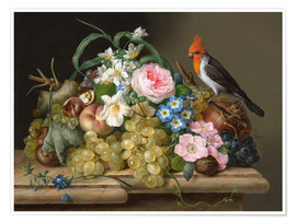 Poster Nature morte florales
