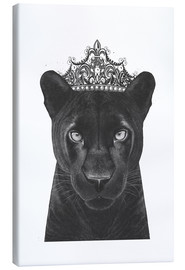Toile  The Queen panther - Valeriya Korenkova