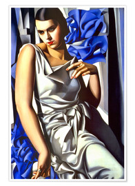 Tamara de Lempicka - Portrait of Mrs. M