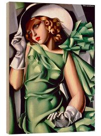 Bois  Young lady with gloves - Tamara de Lempicka